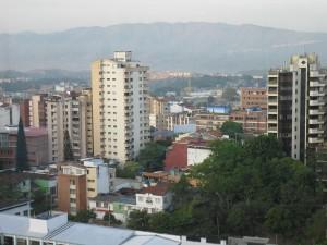 The city of Bucaramanga