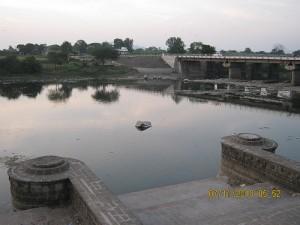 Indrayani river near Pune, India